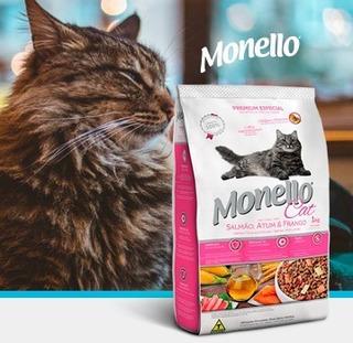 Monello Cat Salmon, Atun Y Pollo 7kg - kg a $14076