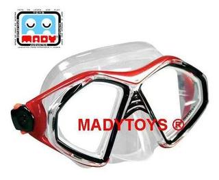U.s. Divers Admiral Dx Mask Visor Buceo Máscara Careta Padi