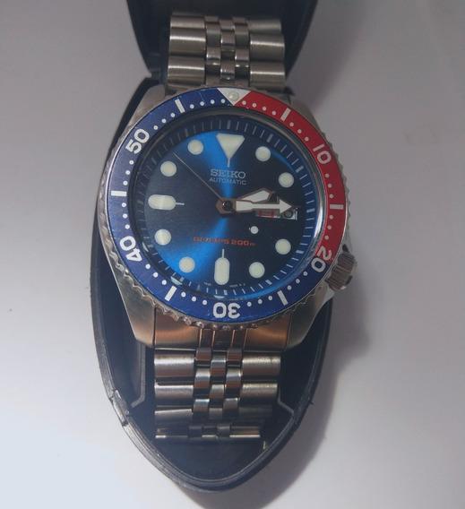 Seiko Mod Skx009k Pepsi Diver