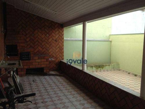 Casa Residencial À Venda, Jardim Americano, São José Dos Campos. - Ca0483