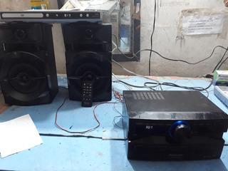 Equipo De Sonido Panasonic 3.300 Watt Rps Modelo Sa-akx100