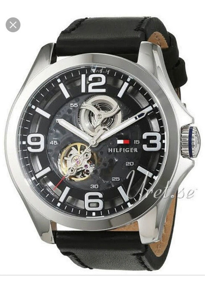 Relógio Tommy Hilfiger Automático Bruce Black 1791279