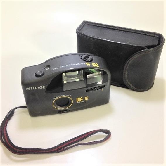 Câmera Fotográfica Antiga Mirage Big 16 - Com Capa