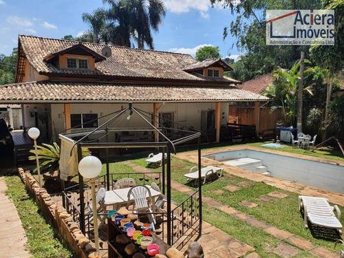 Imagem 1 de 30 de Fazendinha - 4d(3sts) Acessibilidade, Lazer, Natureza, Casa Caseiro! - Ca2528