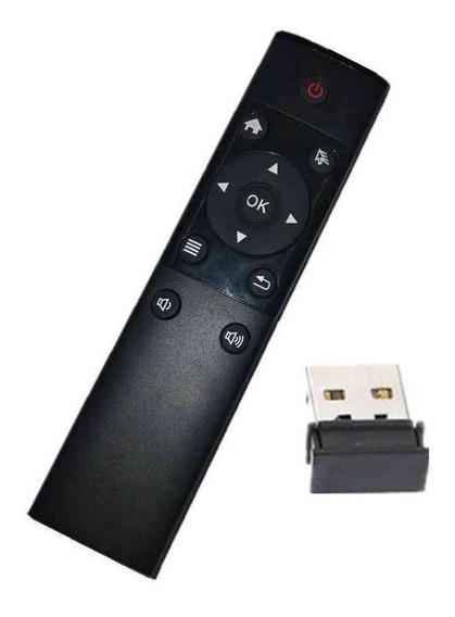 Controle Remoto Air Mouse 2.4g Para Smarttv E Pc