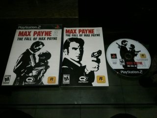 Max Payne 2 The Fall Of Max Payne Completo Play Station 2