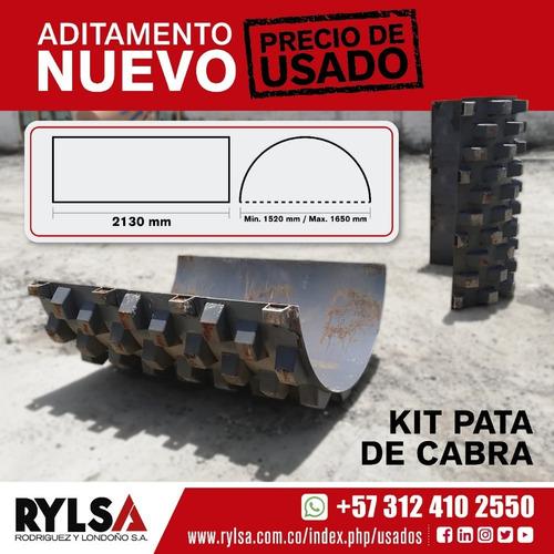 Kit  Pata De Cabra, Para Vibrocompactador  Patecabra