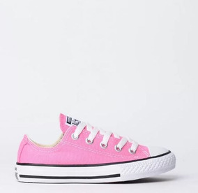 Tênis All Star Infantil Rosa Ck00020006 Original C/nota