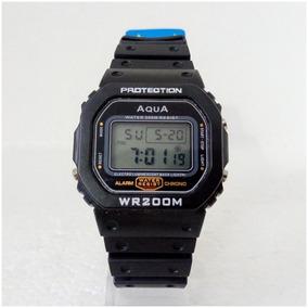 Relógio Digital Aqua Gp519 Retro Vintage Original 12x S/juro