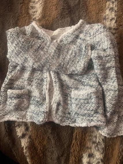 Suéter Gris Para Niña