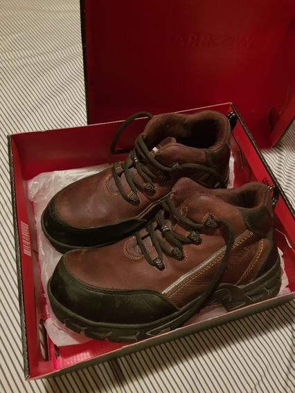 Zapatos Casquillo Swissbrand Usados
