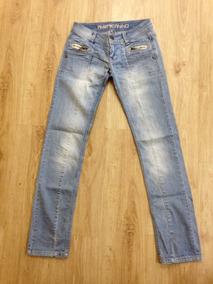 Jeans Americanino 36 Mujer Poco Uso