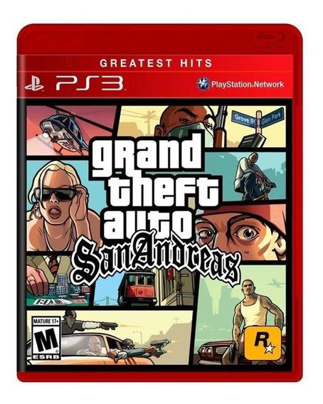 Gand Theft Auto (gta) San Andreas - Ps3 - Original - Física