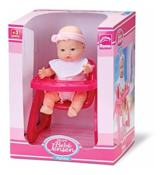 Bebé Con Silla De Comer Roma Brinquedos