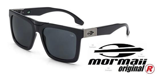 Óculos De Sol Mormaii Long Beach M0064a0201 Preto Brilho