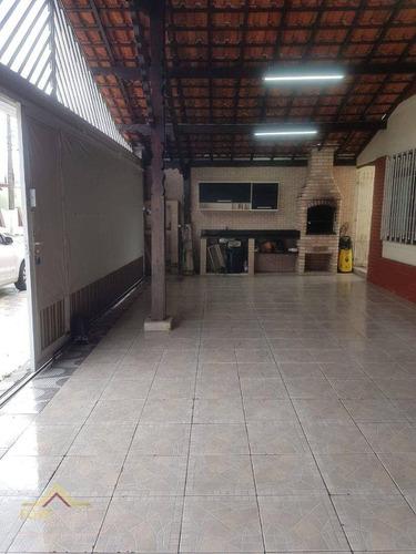 Imagem 1 de 29 de Casa Com 3 Dormitórios À Venda, 178 M² Por R$ 480.000,00 - Maracanã - Praia Grande/sp - Ca0863