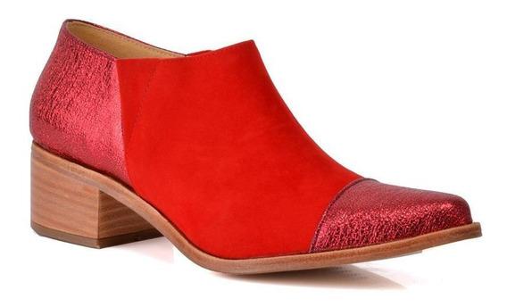 Zapato Kate Kuba Liverpool 6506 Rojo