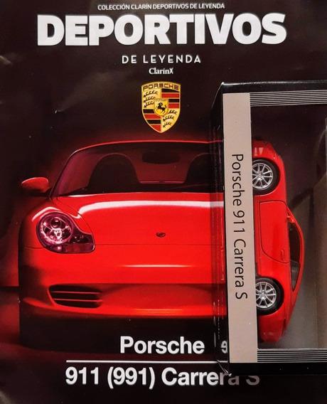 Deportivos De Leyenda Clarin N° 3 Porsche 911 Carrera S