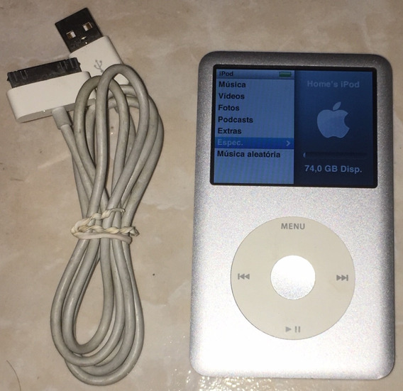 iPod Classic 80gb - 6a. Geração
