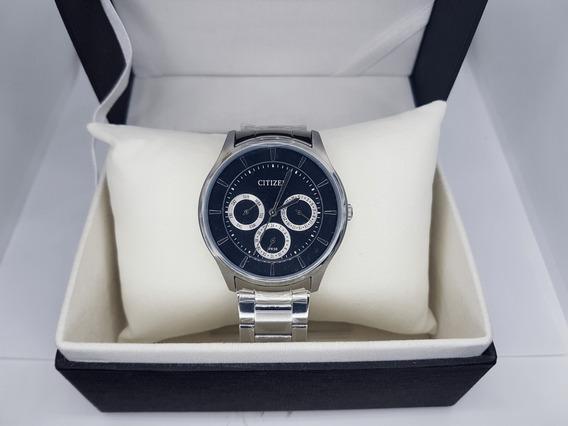 Reloj Original Citizen Ag8351-51e Nuevo Cuarzo Para Hombre