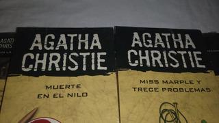 10 X Libros Colección De Agatha Christine Nuevos Leer Antes
