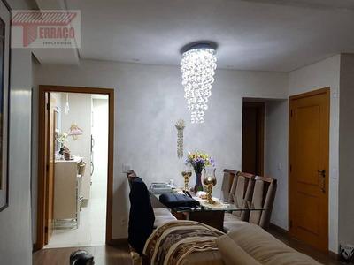 Apartamento Com 3 Dormitórios À Venda, 127 M² Por R$ 1.150.000 - Vila Scarpelli - Santo André/sp - Ap2451