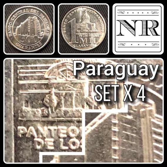 Paraguay - Set X 4 Monedas - Año 2006 A 2011