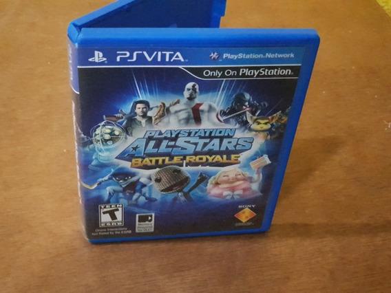 Playstation All Stars Battle Royale Usado Psvita