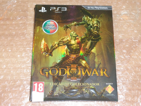 God Of War 3 Edição De Colecionador - Ps3 - Frete Grátis