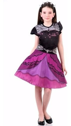 Fantasia Ever After High - Raven Queen Infantil Std C/ Tiara