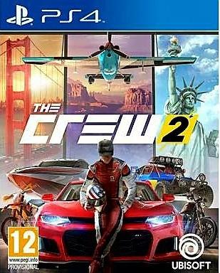 Game Jogo Ps4 The Crew 2 - Mídia Física Frete Grátis