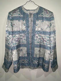 Conjunto Talla 12 Anne Crimmins Umi Collection Seda Vintage