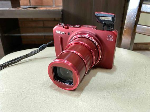 Cámara Nikon Coolpix S9700 30x Wide Fullhd Hdmi