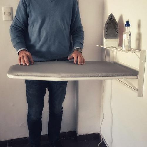 Tabla De Planchar De Pared Höllsen Con Funda Aluminizada