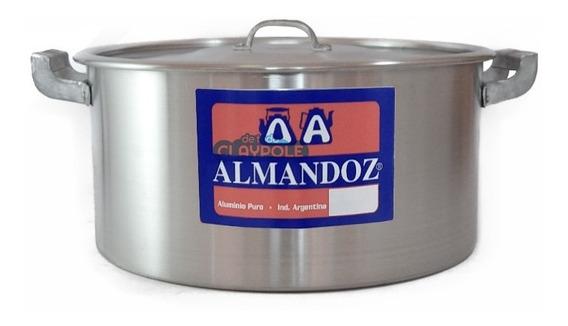 Cacerola Gastronómica Aluminio Reforzado N°24 - 5,0 Lts