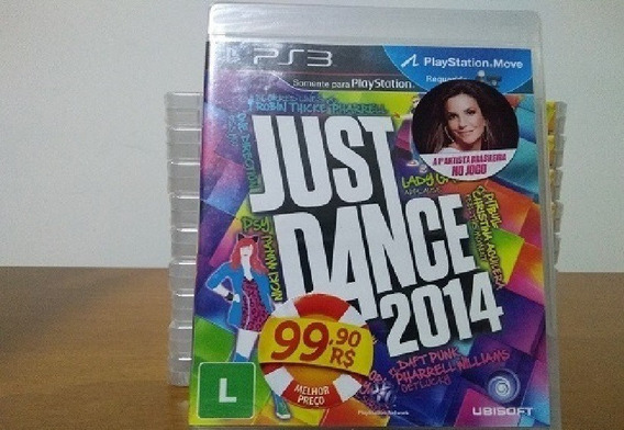 Jogo Just Dance 2014 Move C/ Ivete Sangalo Ps3 Mídia Física