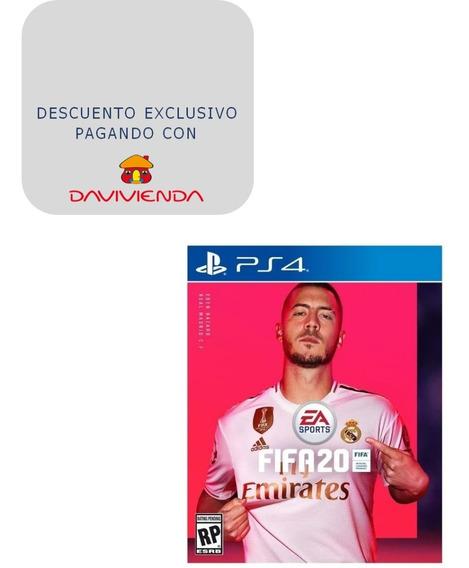 Fifa 20 Ps4 Juego Playstation 4 Con Liga Champions Fisico