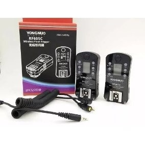 Radio Flash Yongnuo Rf605c Canon Wireless 2.4 - 2 Unid