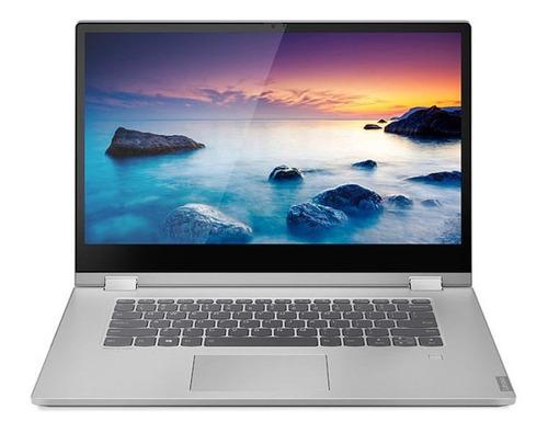 "Imagen 1 de 4 de Laptop Lenovo IdeaPad C340-15IWL  gris platino táctil 15.6"", Intel Core i5 8265U  4GB de RAM 1TB HDD, Intel UHD Graphics 620 1920x1080px Windows 10 Home"