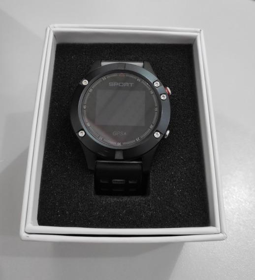 Relógio F-5 Gps Bluetooth Monitor Cardíaco Smartwatch