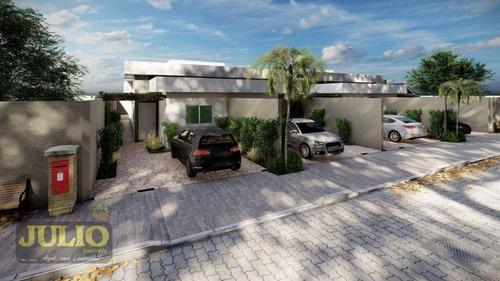 Imagem 1 de 8 de Casa Com 2 Dormitórios À Venda, 73 M² Entrada A Partir De R$62 Mil E Saldo Financiado - Ca4214