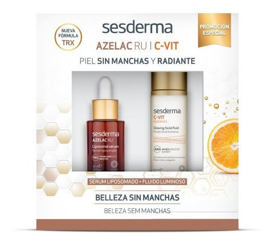 Pack Sesderma Azelac Ru + C-vit Radiance