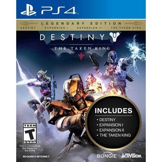 Destiny The Taken King Edicion Legendaria Ps4 Nuevo Sellado