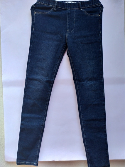 Jeans Jeggin Azul, Mezclilla, Adolescentes, Pantalón