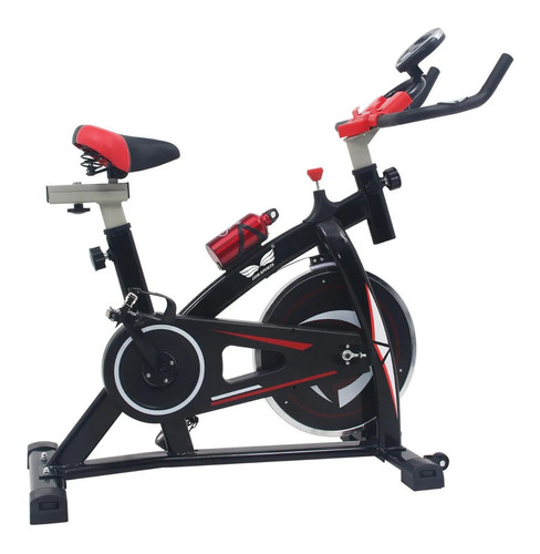 Bicicleta fija spinning JDM Sports 7802 negra