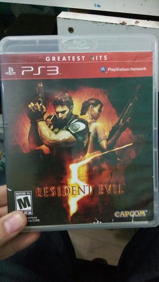 Resident Evil 5 Ps3 Físico