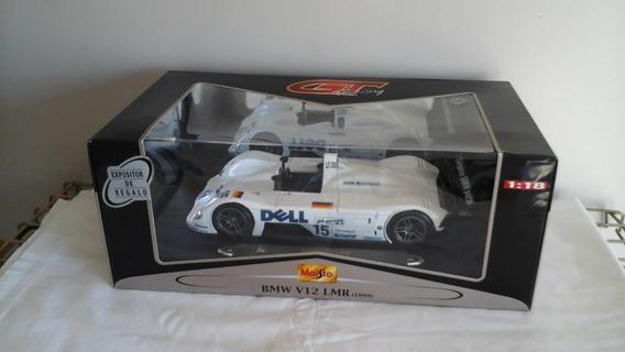 Bmw V12 Lmr (le Mans 1999), Escala 1:18, Por Maisto