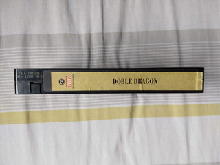 Vhs Doble Dragón Caras Original Ingles Subtitulado