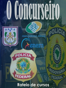Pacotes Completos Para Concursos, Prf, Pm, Pc, Inss. Etc..