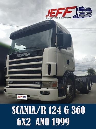 Caminhão Scania/r 124 G 360 1999